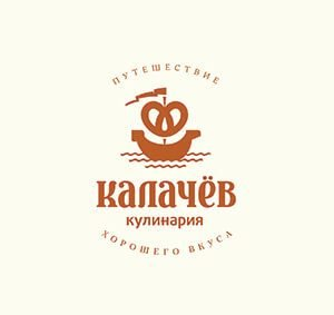 Создание и разработка фирменного стиля бренда кулинарий Калачев.