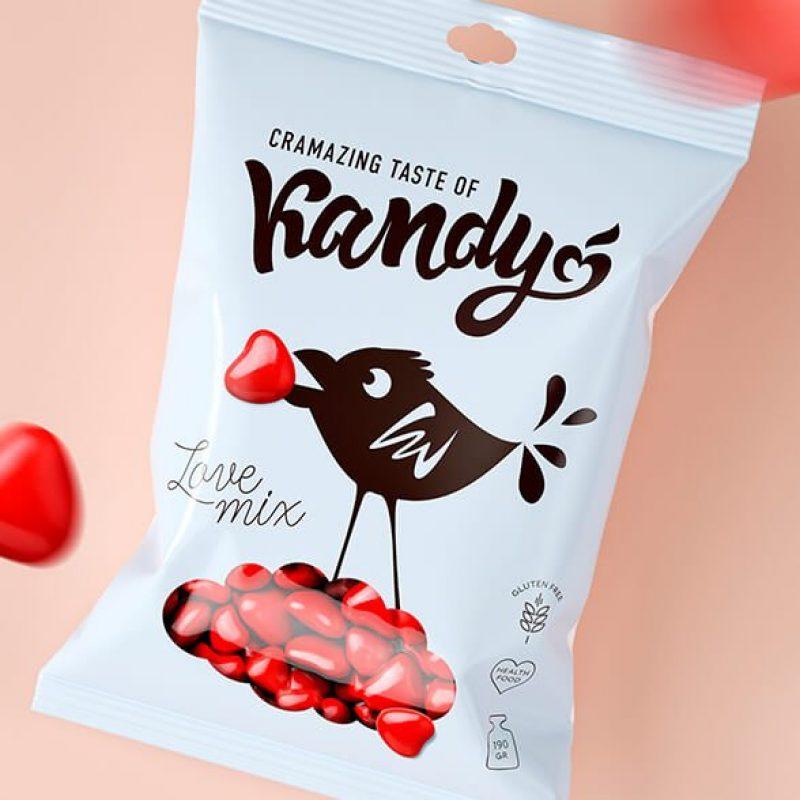 Дизайн логотипа. Разработка дизайна упаковки конфет