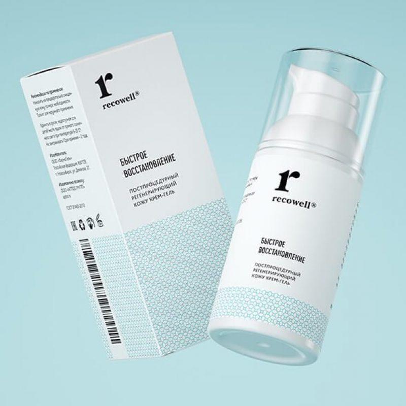 Разработка дизайна упаковки косметологического препарата.